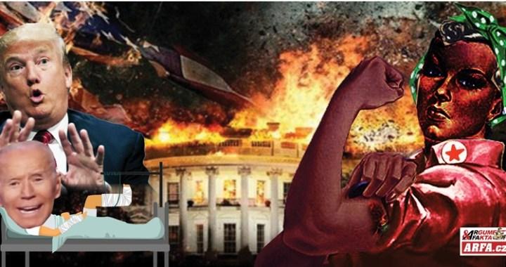 První krok ve funkci: Zlomil si nohu! Záhadné zranění (asi)prezidenta USA Joe Bidena. Potrhal ho pes? Předtím stačil jmenovat komunikační tým: samé ženy! Velká feministická revoluce začíná