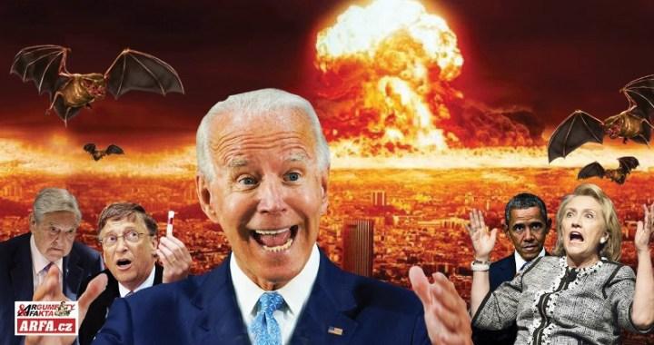 Koronavirus vede ke III. světové válce, varuje významný britský generál. VIDEO. Lžiprezident soudruh Biden už plánuje nový Lockdown, tentokrát  napořád.