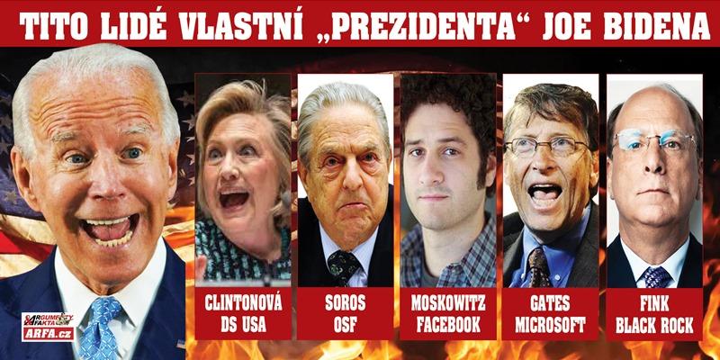 """Tito lidé vlastní Bidena, považovaného již dnes za nejvíc zkorumpovaného """"prezidenta"""" v dějinách USA. Odvážný výlet na seznam dárců volební kampaně, kde vládne Gates, Soros, Hillary, chlapci z Facebooku…"""