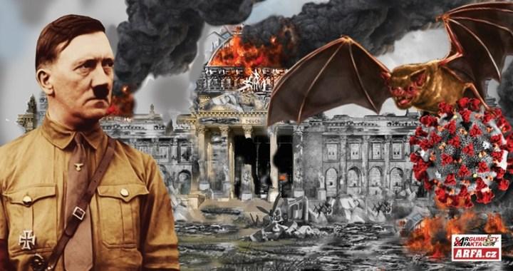"""Nový zákon o zdraví je instalací diktatury, varují experti. Děsivá analogie s požárem Říšského sněmu a dosazení Hitlera jako Velkého vůdce. Dříve """"bolševismus"""" nyní """"covidismus"""". Kam to směřuje a jak to všechno skončí…"""