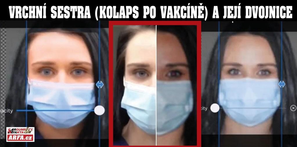 Přízrak mrtvé vrchní sestry: Nastrčili její dvojnici! VIDEO jako důkaz. Šokující spiknutí a legendy kolem Tiffany Doverové, která zkolabovala před Vánoci po aplikaci vakcíny proti koronaviru.