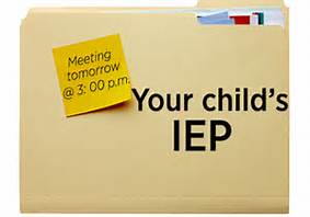 Parts of an IEP -A statement of Measurable Annual Goals