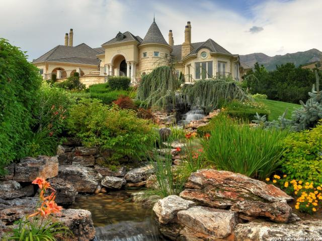 Castle-looking home located in Lindon, Utah