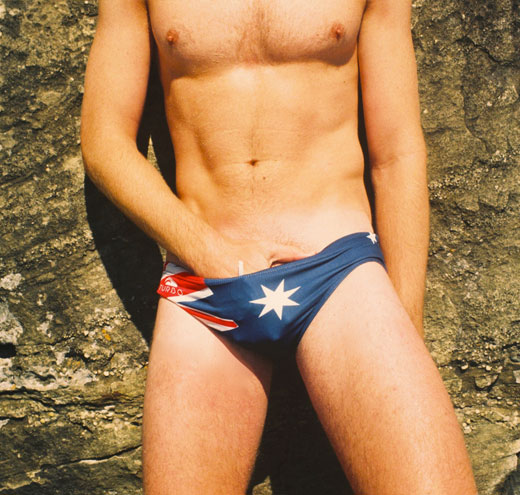 Aussie Flag Swimwear