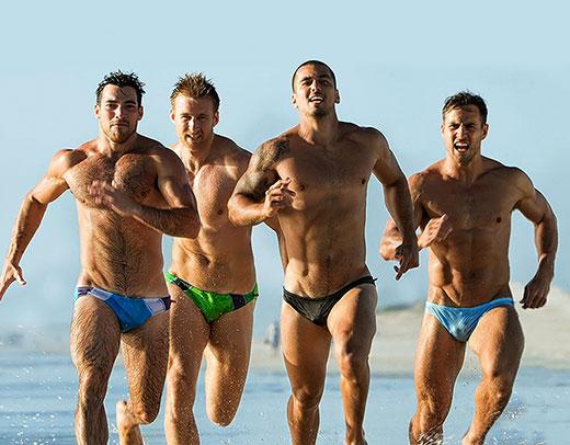 Real Men Wearing AussieBum Speedos