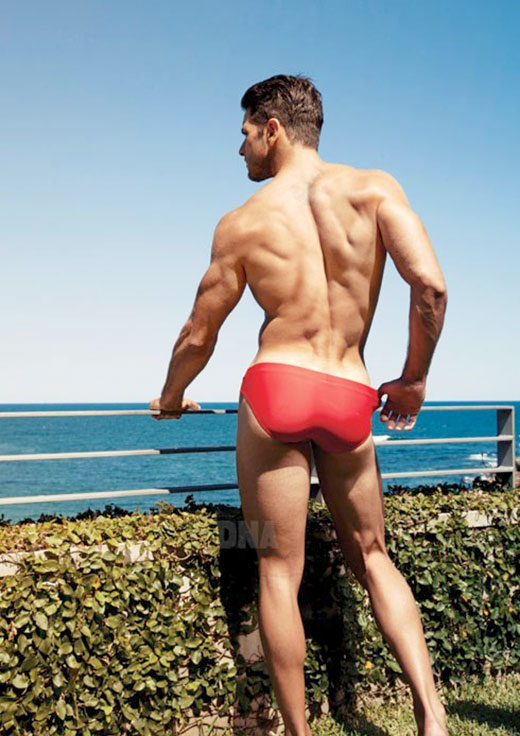 Red Speedo Butt