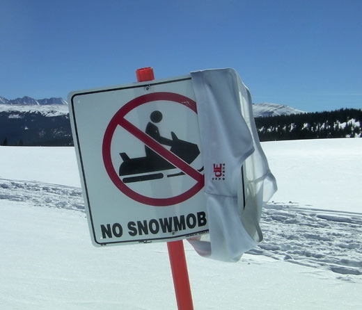 Speedo Snowmobile