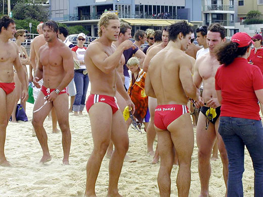 Team Building in Speedos
