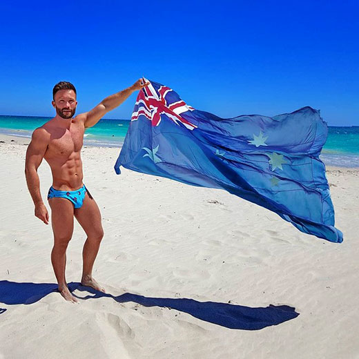 Aussie Speedo Guy