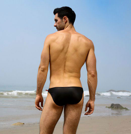Black Speedo Bum