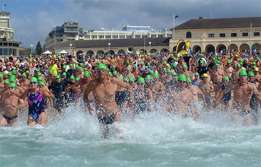 Bondi to Bronte Swim Race