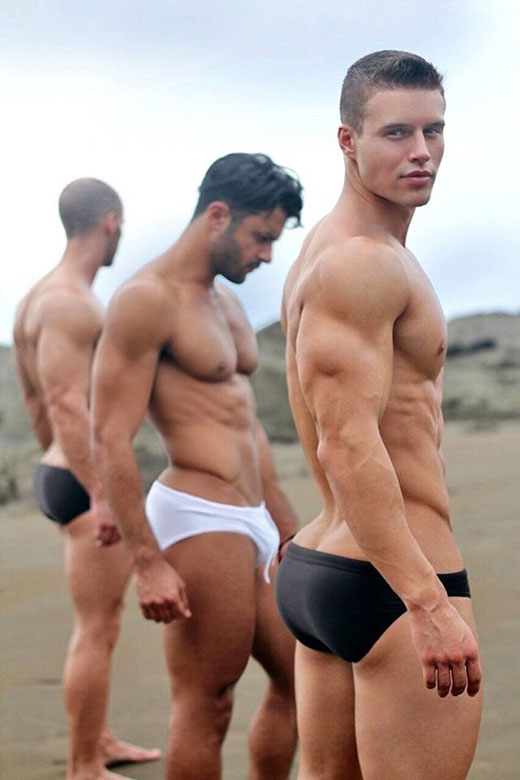 Three Speedo Boys