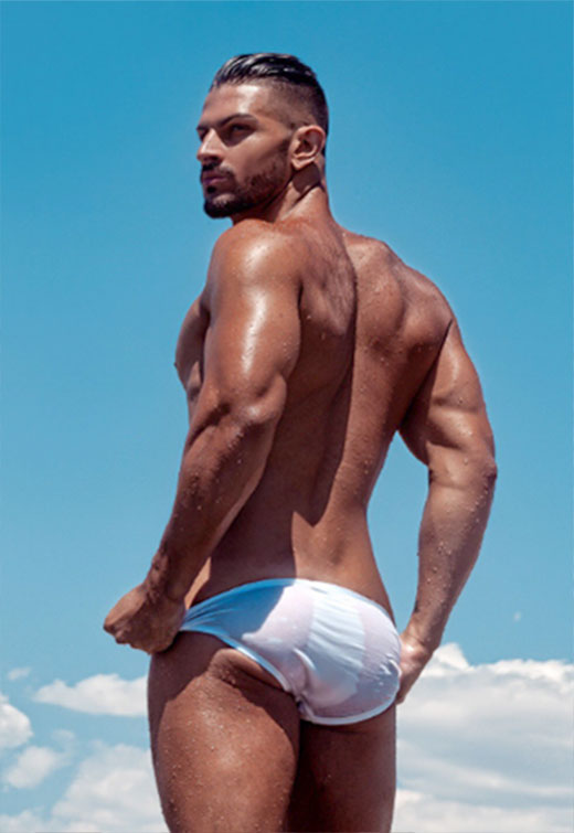 White Speedo Lining