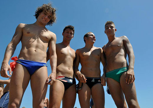Aussie Speedo Boys