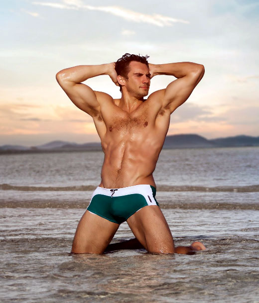 AussieBum Square Cuts