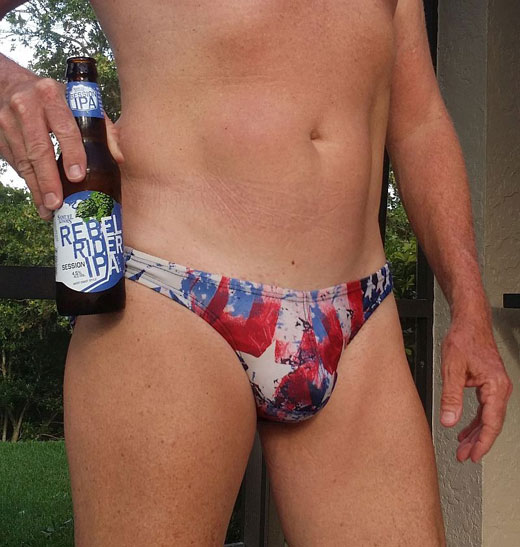 Beer and Speedos