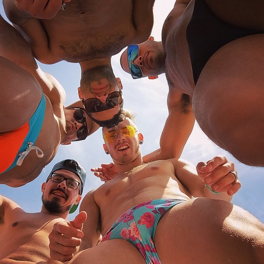 Group of Speedo Guys