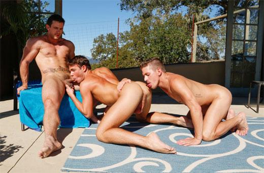 Hottub Threesome