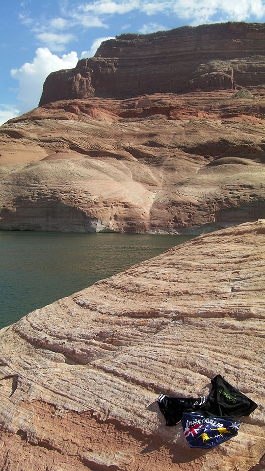Speedos on Lake Powell