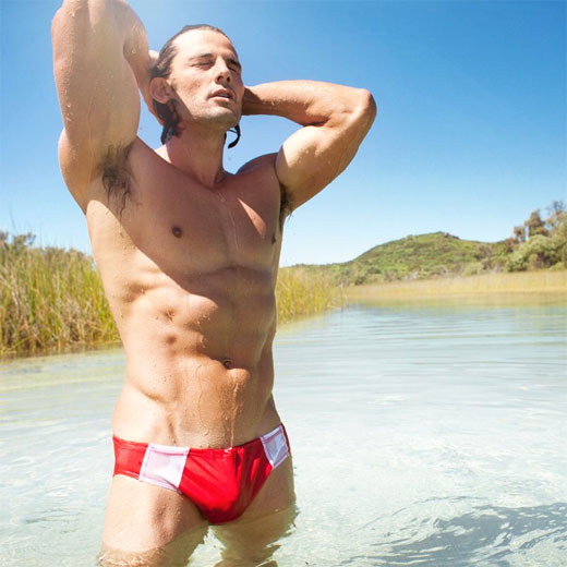 Red Speedo Aussie