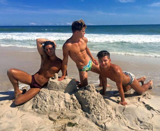 Speedos on the Sand
