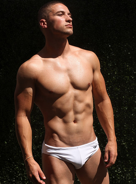 White Speedo Solar