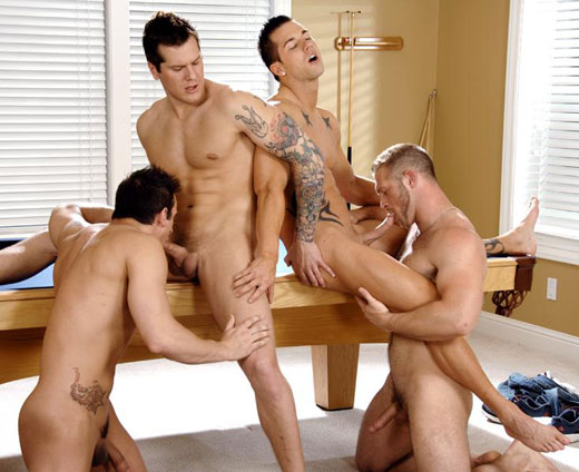 Gay Guys Foursome
