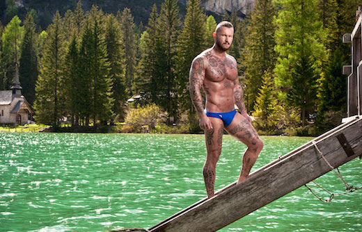 Speedos in the mountains