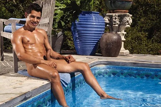 Naked at the Pool