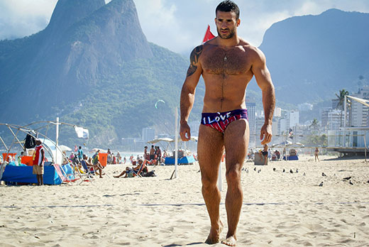 Speedo Hunk on Copacabana