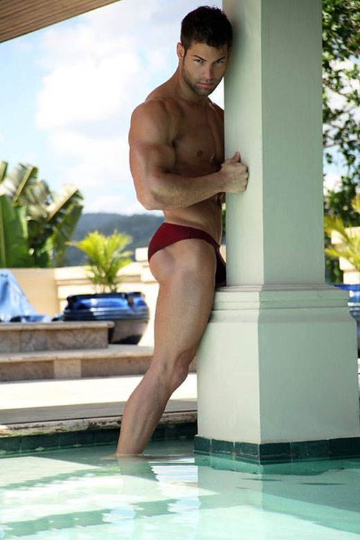 Red Speedo Photo
