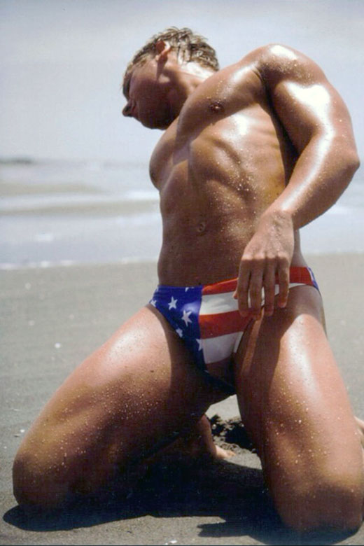 Stars and Stripes Speedo