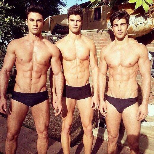 Three Fit Guys