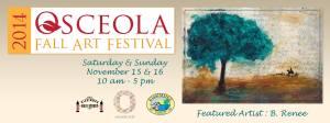 Osceola 2014 Art Festival Poster Artist