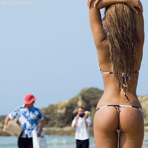 Amateur Bikini Model