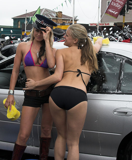 Bikini Car Wash Girls