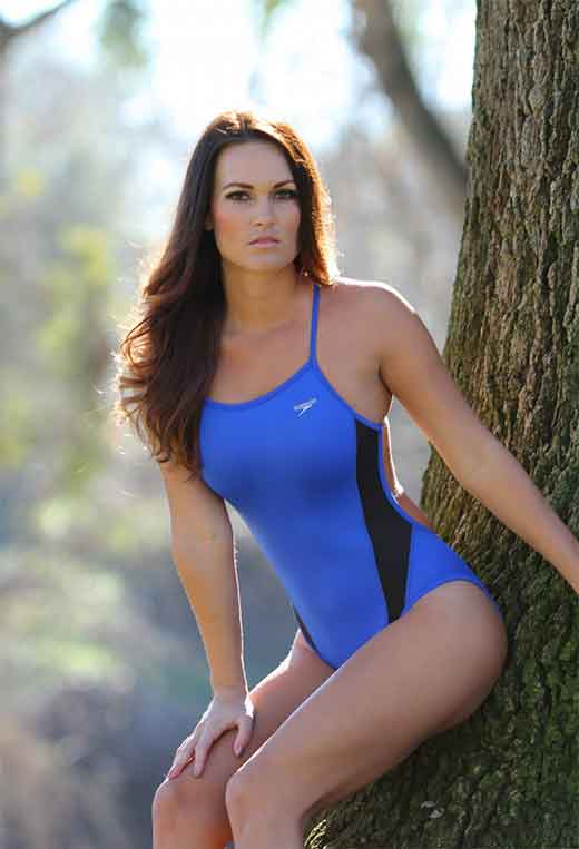 Blue One Piece