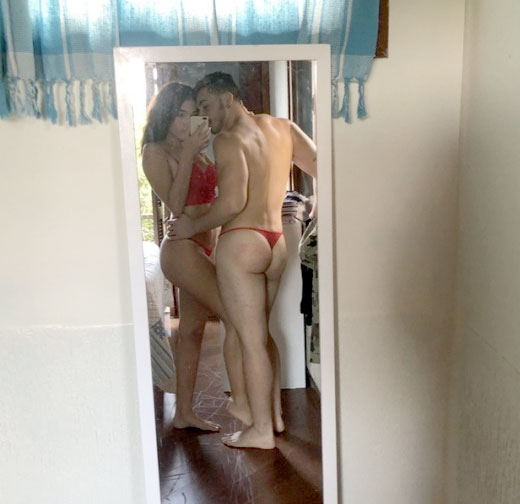 Red Thong Couple