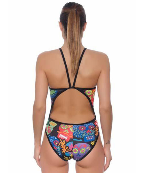 Turbo Skulls Swimsuit
