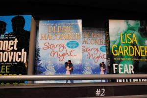 Debbie Macomber's novels are everywhere.