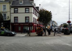 Here's the town of Cobh where I searched for deodorant.