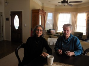 Our very nice hostess Gayle, and her very nice mother, Doris.