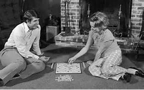 In the olden days, people played board games after Thanksgiving and didn't think one thought about shopping.