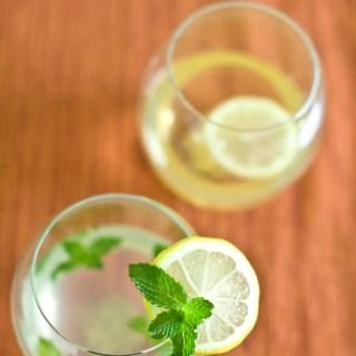 Easy Breezy Ginger Lemon Iced Green Tea & Middle Eastern Mint Lemonade
