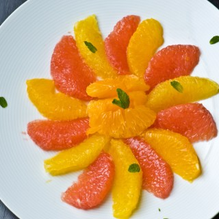 Winter's Best- Citrus and a Sunny Citrus Salad to start your day