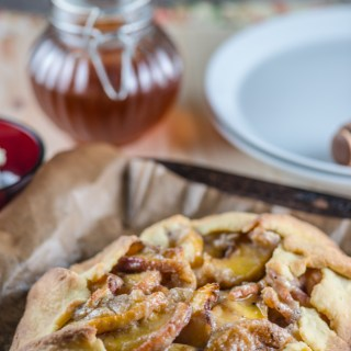 Summer's Best Peach Crostata and Autumn's Best Apple Cinnamon Galette