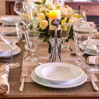 How to set the table for entertaining at home