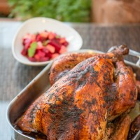How to Roast a Jamaican Jerk Turkey to spice up your Thanksgiving or Christmas table