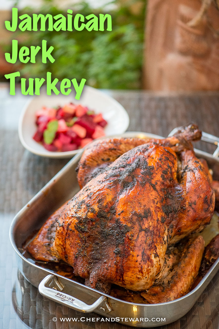 Jamaican Jery Turkey Thanksgiving Christmas GFX-1