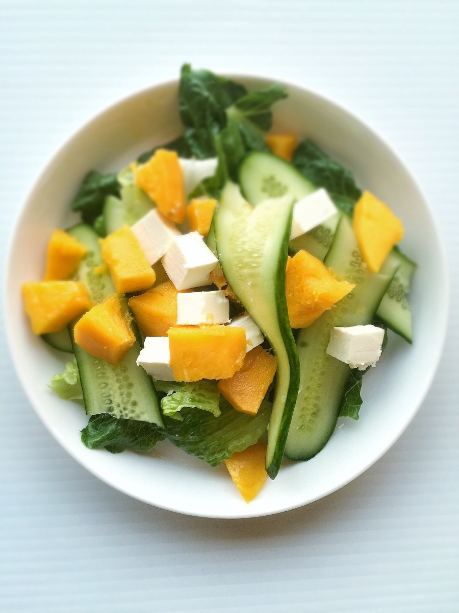 Summer's Best EVER Mango Salad